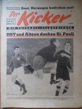 KICKER 7 - 16.2. 1953 St.Pauli-Kiel 2:1 Elmsbüttel-Bremen 3:2 Gladbach-BVB 0:0