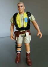 Rare Jurassic Park Robert Muldoon Figure with backpack Kenner 1993