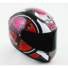 Cascos de motocicleta talla XXL color principal rojo para conductores