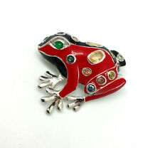 Red Fine Brooches