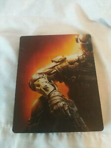 Call of Duty Black Ops 3 Steelbook Case With Game For PS4 Damaged Case