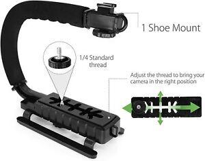 Kamera Stabilisator Camcorder Halterung Stielhalterung Action Griff Tragehilfe