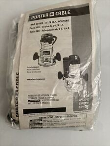 Porter Cable 890 Series 2 1/4 H.P. Routers Wrench Parts In Sealed Plastic Bag