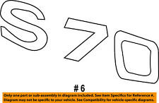 VOLVO OEM 98-00 S70 Trunk Lid-Emblem Badge Nameplate 9157131
