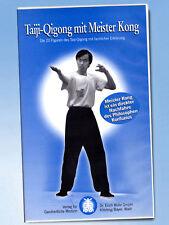 Taiji-Qigong mit Meister Kong VHS Konfuzius THERAPIE Atem Bewegungsübung TCM rar