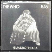"The Who - 5:15 7"" Mint- Promo Vinyl 45 Polydor PD 2022 USA 1979"