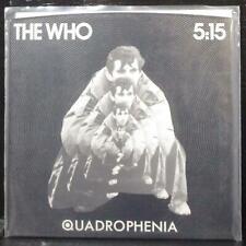 "The Who - 5:15 7"" Mint- Promo Vinyl 45 Polydor PD 2022 USA 1979"