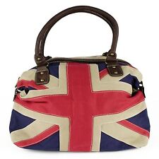 Union Jack Pattern Vintage Handbag Travelling Bag
