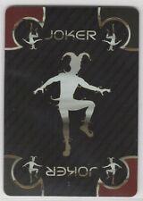 """JOKER: 1 single wide 2013 BICYCLE """"Platinum"""" playing card."""