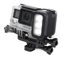 Underwater waterproof diving LED Action Black Fits GoPro Action Camera Light
