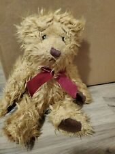 "Russ Gregory Teddy Bear 10"" Artist Carol-Lynn Rossel Waugh Retired #727 Tags"