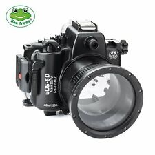 Seafrogs 130ft Underwater Camera Housing for Canon EOS 5D Mark III 5D Mark IV