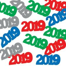 2019 Assorted Colors Confetti New Years Eve Graduation .5 oz