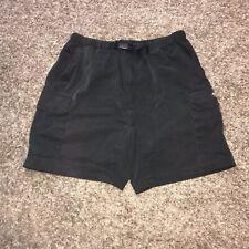 Nautica Competition Men's Black Cargo Shorts M Vintage