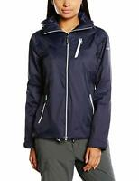 Hi-Tec Women's Swindon Lightweight Summer Waterproof Jacket Navy