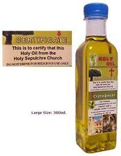 Church of the Holy Sepulchre Anointing Olive Oil Bethlehem Jesus Jerusalem 300ml