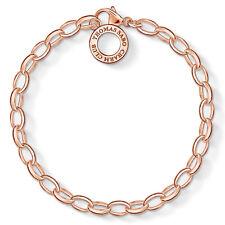 Thomas Sabo Charm-Armband Basis 925 Silber Rosegold X0031-415-12-S (14,5cm)