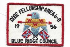 OA 1956 Dixie Fellowship Patch Host 185 Atta Kulla Kulla Old Indian [LMT884]