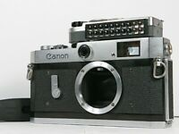 [Optical Near Mint] Canon P 35mm Rangefinder Film Camera Body + Meter from JAPAN