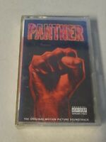 "NEW SEALED ""Panther"" Original Motion Picture Soundtrack Cassette Tape NOS"