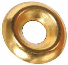 Hillman  Brass  #8  Countersunk Finish Washer  100 pk