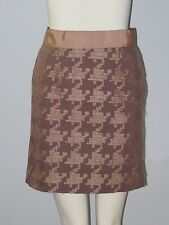ANN TAYLOR LOFT Petites Size 00P Brown Fully-Lined Pencil Skirt