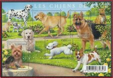 2011 FRANCE BLOC F4545** BF Les Chiens de Race, 2011 France Dogs sheet MNH