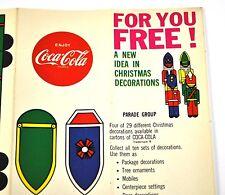COCA-COLA COKE Feuille de bricolage déco noel USA Noël Décoration - PARADE Grou