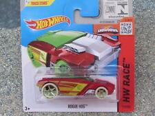 Hot Wheels 2015 #173/250 ROGUE HOG red-orange HW RACE Case P TREASURE HUNT