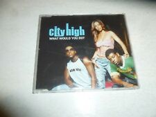 CITY HIGH - What Would You Do? - 2001 UK Interscope label 4-track enhanced CD