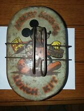 Vintage 1930's Mickey Mouse lunch kit Lunch Box. With inner tray Rare