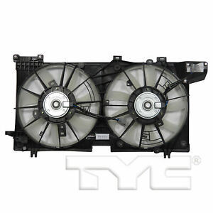 For 2015-2017 Subaru Legacy Outback 3.6L H6 Dual Radiator and Condenser Fan