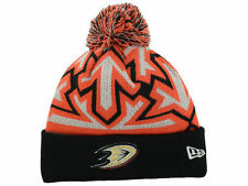 Official 2014 NHL Anaheim Ducks New Era Glowflake Knit Beanie Hat