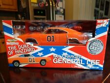 1969 DODGE CHARGER GENERAL LEE 1/18 AMERICAN MUSCLE BODY SHOP KIT USED NICE