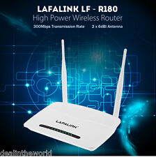 lafalink 2.4ghz Ghz Banda 300mbps 2x 6dbi 802. 11b / G/N Inalámbrico Router