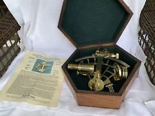 Reproduction  Solid Brass Stanley London Nautical Sextant