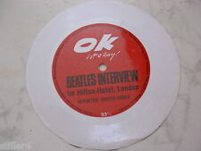 BEATLES INTERVIEW IM HILTON HOTEL *MEGARARE OK FLEXI SINGLE*