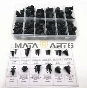 240pcs Car Body Retainer Push Type Pin Rivet Trim Clip Panel Moulding Assortment