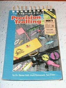 """Precision Trolling """"The Trollers Bible"""" Book ~ 5th Edition"""