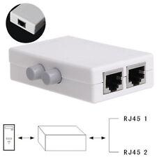 Mini 2 Porte Rj45 Lan Hub Switch di Rete Box Computer Ethernet Internet