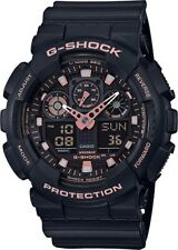BRAND NEW CASIO G-SHOCK GA100GBX-1A4 ROSE GOLD ANA-DIGI MENS WATCH NWT!!!!