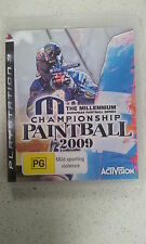 Millennium Series Championship Paintball 2009 Sony PlayStation 3 PS3