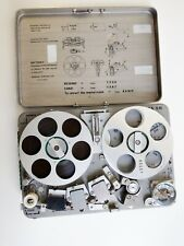 Nagra SN Reel Recorder with Two Tapes Switzerland - Works & Looks Great