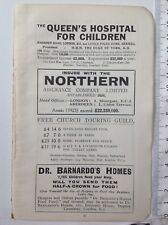 The Queen's Hospital For Children, C1927 Vintage Advert, Original