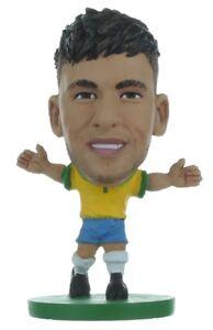 NEYMAR JR BRAZIL FIFA WORLD CUP 2018 SOCCERSTARZ MINI SOCCER FIGURE