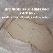SUPER CERIUM OXIDE  HIGH QUALITY OPTICAL GRADE LAPIDARY POLISHING powder 250gm