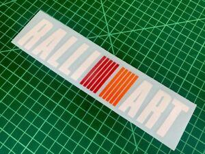 Mitsubishi Ralliart Stickers Decals Stickers Vinyl Bike Colt Lancer Evolution