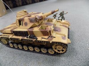 WWII Tiger RC Tank non working