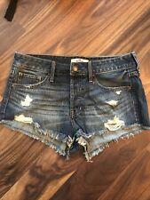 Hollister jean shorts size 7