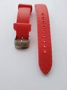 Authentic Seiko Genuine Silicon Strap 4H67 Arctura 3m22-0d89 Swp309